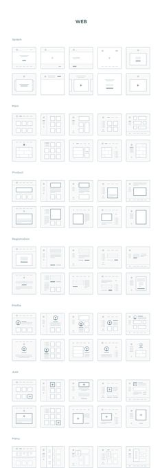 A highly polished collection of 300 mini wireframes to help you easily plan and map out all your web and mobile projects. This set includes 150 mini wireframes (screens) for web and 150 for mobile across 16 content categories, fully editable in .Sketch format. Basically, your new UX secret weapon.