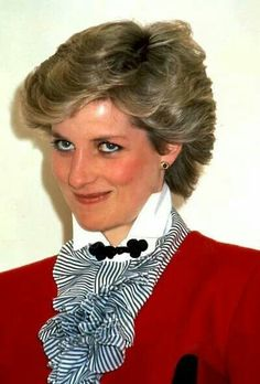 Princess Diana, that smile