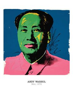 Mao, 1972 Andy Warhol Fine Art Print Poster
