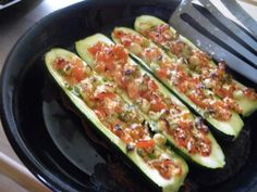 Low Carb Stuffed Zucchini