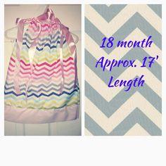 18 month pillowcase dress