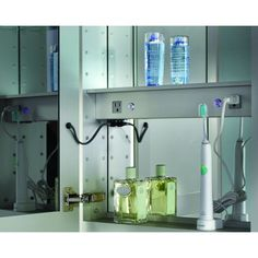 Luxury Medicine Cabinets With Lights, Bathroom Mirrored Cabinets With  Electrical Outlet, High Quality Glasscrafters Medicine Cabinets.