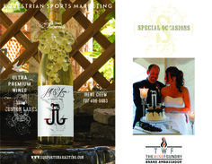 The Wine Foundry in Sonoma, CA Equestrian Sports Marketing is brand ambassador for this ultra premium quality wine making facility. Visit us at www.eqsportsmarketing.com
