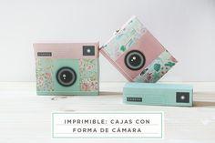 imprimible: cajas de cámaras de fotos