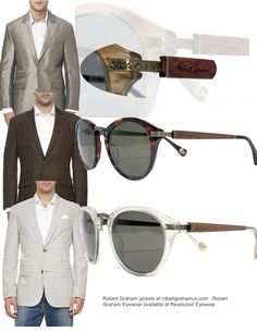 Robert Graham #Eyewear Fall 2013