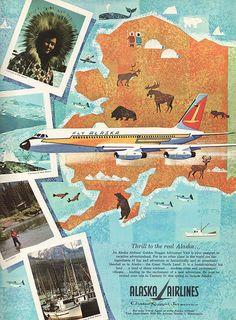 Alaska Airlines poster