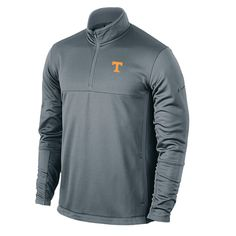 362cc1a7de4cf Tennessee Volunteers Nike Quarter-Zip Cover Up Performance Jacket - Gray -   63.99 Play Golf
