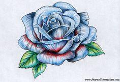 Tatouage rose 1458864043492