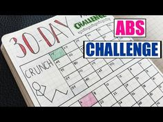 Bullet Journal | 30 Day Fitness Challenge Tracker