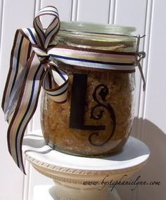 Vanilla Brown Sugar Body Scrub.