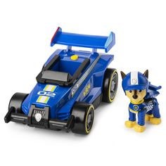 PAW Patrol, Ready, Race, Rescue Chase's Race & Go Deluxe Vehicle with Sounds, for Kids Aged 3 and Up Hot Wheels Storage, Toy Car Storage, Hot Wheels Display, Los Paw Patrol, Paw Patrol Toys, Matchbox Car Storage, Matchbox Cars, Paw Patrol Figures, Car Sounds