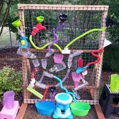 Ideas For Diy Water Games For Kids Outdoor Activities Outside Playground, Backyard Playground, Diy For Kids, Crafts For Kids, Summer Crafts, Water Games For Kids, Outside Games For Kids, Outdoor Play Spaces, Splash Pad