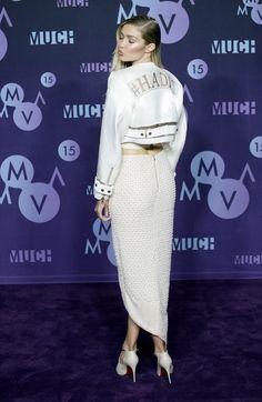 Gigi Hadid en Mikhael Kale aux Much Music Vidéo Awards 2015