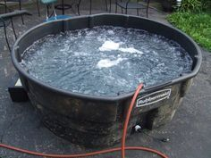 Stock Tank Hot Tub | by Howecollc: