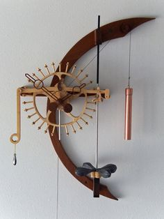 artistic wooden clocks - Google Search