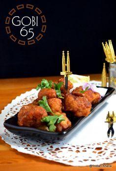 Gobi 65 (Chilli Gobi) ~ Popular Indo-Chinese Recipe with Cauliflower