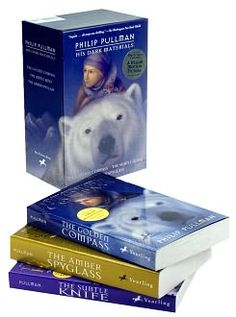 The Golden Compass (Dark Materials) trilogy. I had such a lovely time reading these books. They were so much more than I expected. Definitely at the top of my fave books list. Good Books, Books To Read, My Books, The Amber Spyglass, The Golden Compass, Philip Pullman, His Dark Materials, Cozy Corner, Book Lists