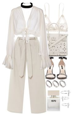 """""""Untitled #9113"""" by nikka-phillips ❤ liked on Polyvore featuring Hanky Panky, Yves Saint Laurent, ASOS, Zara, Mes Demoiselles..., Bella Freud and 32.4"""