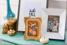 Decorating my house for fall.