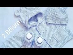 Baby Boy Knitting Patterns, Baby Sweater Patterns, Baby Sweater Knitting Pattern, Knitted Baby Cardigan, Knitting For Kids, Baby Patterns, Crochet Fabric, Baby Suit, Crochet Baby Hats