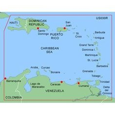 Garmin Bluechart MUS030R - Southeast Caribbean - Garmin Data Card - Revision July 2008 by Garmin. $134.99. MUS030R Covers:Covers the Caribbean from Haiti to Trinidad & Tobago including Puerto Rico and all of the Lesser Antilles. Also includes the Colombian and Venezuelan coasts from Barranquilla Colombia to the mouth of the Orinoco River including Lake Maracaibo and the Gulf of Paria.MapSource BlueChart serves up the best offshore cartography around and works in seamless integra...