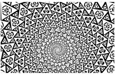 Free coloring page «coloring-psychedelic-1». A incredible drawing ... to color for free