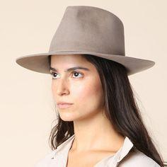 8d47c85aa8b Clyde Taupe Pinch Hat  sol  Shop Super Street - 3 Mink Colour