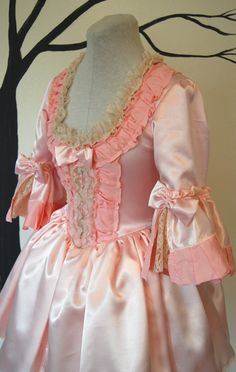 Pink cupcake mini Marie Antoinette Victorian by hhfashions on Etsy, $185.00