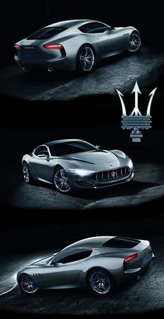 Maserati Alfieri - Amazing car, just like their watches [The Maserati Timepiece collection is available at James Samson]
