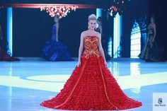 Miss Albania. | 37 Over-The-Top Evening Gowns From The 2013 Miss World Fashion Show