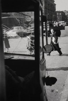 Saul LEITER :: Cracked, 1950's