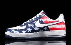 "U.S.A. Pride is Strong in These Nike Air Force 1 ""Independence Days"""