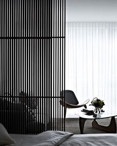 @koichitakadaarchitects & their brilliant use of privacy screens (or otherwise known as room dividers). Timeless interior lines that add the subtle element of refinery.