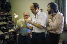 Creating Yoda - Frank Oz, Jim Henson. I have yoda too; )