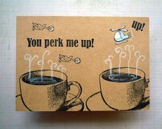 Whimsical Stamper, Happy Emilia: Darkroom Door Coffee Time Rubber Stamp Set. http://www.darkroomdoor.com/rubber-stamp-sets/rubber-stamp-set-coffee-time