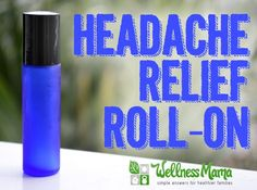 Natural headache relief roll on