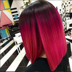 Rasberry and Pink Panther ombré. Lust colour Cruelty free hair colour  #Lusthairnz #phbnz #veganhaircolour #brighthair #haircolor #colourart #stylist #hairlove #hairart #crueltyfree #hairgoals
