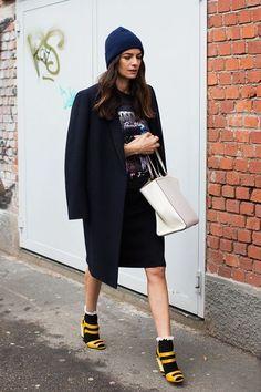 Τελικά φοράμε πέδιλα το χειμώνα; Πώς, πού και πότε; / Fashion / Woman TOC