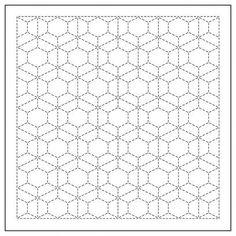 Sashiko Sampler New Patterns