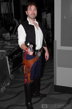 #HanSolo from #StarWars #Cosplay from #SteelCityCon #ComicCon ----- Check out more of my photography @ http://www.facebook.com/MidnightSkyPhotography (Link in Profile) ----- #MidnightSkyPhotography #MidSkyPhoto