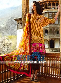 Shariq Textile Lawn Suits Stitching Designs for Eid 2014  Wardha Saleem Lawn Suits Stitching Designs for Eid ul Azha 2014. Opportunity For Stores in US and Canada To Buy Any Lawn Collection at Wholesale Discounted Prices. by www.dressrepublic.com