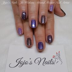 CND Shellac manicure - By Jo Wickens @ Jojo's Nails - www.jojosnails.com