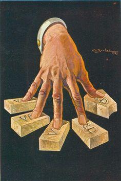 Illustration by A. Scolari for Veni. VD. Vici.