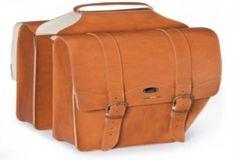 Luxury Tan pannier bags
