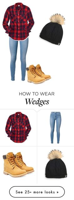 """Untitled #18"" by ponyluv14 on Polyvore featuring Timberland and Aéropostale"