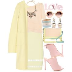 How To Wear Love Pastels Outfit Idea 2017 - Fashion Trends Ready To Wear For Plus Size, Curvy Women Over 20, 30, 40, 50