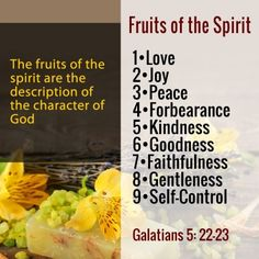 why is a tomato a fruit fruits of the spirit kjv