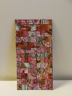 Mixed media small art piece by Peppina.