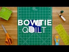 Make the sweet Bowtie Quilt Block in a flash with this Quilt Snips Video! Here at MSQC we are all about quick and easy quilting tutorials, so we've taken your favorite tutorials and condensed them to