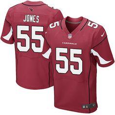 Men's Nike Arizona Cardinals #55 Chandler Jones Elite Red Team Color NFL Jersey